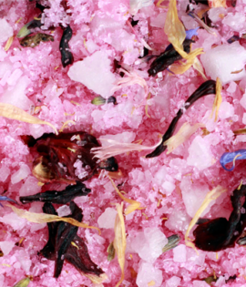 Jasmine Rose Close Up Bath Salts