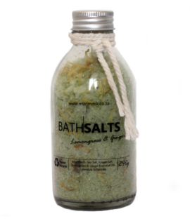 Lemongrass and Ginger Bath Salts