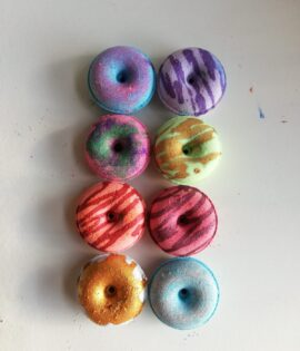 Mini Doughnut Bath Bombs Set
