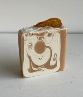 Orange Sticky Bun Artisan Soap